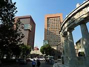 Secretaría de Relaciones Exteriores. Plaza Juárez. Ciudad México.