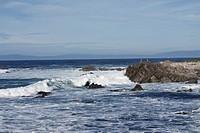 Monterey beach of California