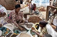 Africa  Ethiopia  Lalibela  The market.