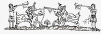 Tilting in the early fourteenth century  From the book Short History of the English People by J R  Green, published London 1893