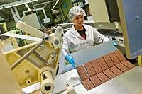 Chocolate factory Stella, Giubiasco, Canton Ticino, Switzerland