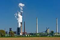 Mittal Stahlwerk, Ruhrort, Duisburg, Ruhr, North Rhine_Westphalia, Germany