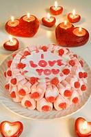 Cake, I love you,