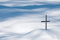 A Metal Cross