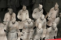 warriors, person, terracotta, detal, china, people