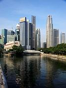 Singapore, Central Business District, Singapore River,
