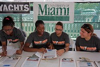 Florida, Miami, Coconut Grove, Shake-a-Leg Miami, No Barriers Festival, non-profit, Black, Hispanic, woman, girl, teen, young adult, student, voluntee...