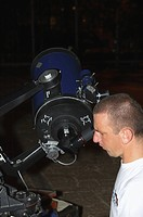 abstruse, telescope, astronomy, look, male, boy