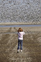 large, girl, photograph, get, trying, young