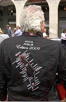 1000 Miglia 2009, piazza paolo VI°, brescia