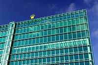 Headquarters of the Swiss watch manufacturer Rolex SA in Geneva, Switzerland