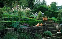 THE TERRACED GARDEN AT MILLMEAD MICHELE AND KEN BARKER FEATURE AVAILABLE ON REQUEST