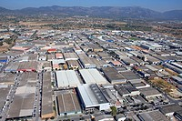 Son Castello industrial zone, Palma de Mallorca, Mallorca, Balearic Islands, Spain