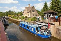 Iffley Lock is a lock on the River Thames in England near the village of Iffley, Oxfordshire  It is on the southern outskirts of Oxford