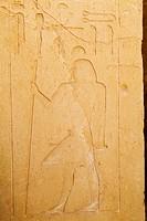 Photograph of an ancient Egyptian hieroglyphics