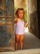 Little Girl at Torab El Gafir, City of Dead, Cairo, Egypt