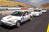 Solar and Electric 500 car races, AZ