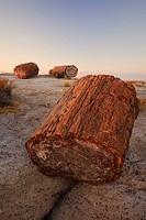 Sunset at Petrified forest national park