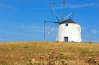 Beja  Old Windmill  Alentejo  Portugal, Europe.