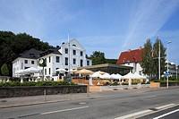 Germany, Kiel, Kiel Fjord, Baltic Sea, Schleswig-Holstein, yacht club Kiel, clubhouse