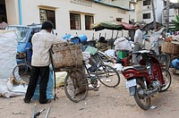 Recycling center in Siem Reap