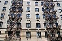 Building, Harlem, New York, USA.