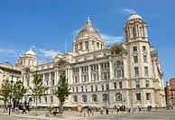 The Port of Liverpool Building formerly Mersey Docks and Harbour Board Offices, more commonly known as the ´Dock Office´, is a Grade II* listed buildi...