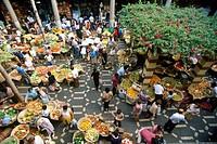 Portugal, Madeira, Lavradores market, Funchal ...