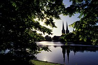 Germany, Schleswig_Holstein, Lubeck, The Cathedral