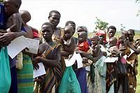 displaced people in Uganda