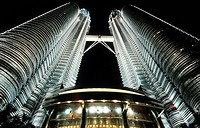 Malaysia, Kuala Lumpur, Petronas towers
