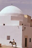 Tunisia, Kairouan: local house in the medina