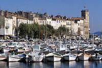 France, Provence, La Ciotat, the harbour