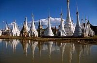 Myanmar, Burma, Shan State, Inle lake, Aung Ming Lar Pagoda