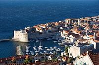 Croatia, Dubrovnik, aerial view