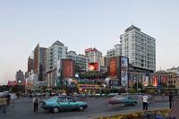 China, Yunnan province, Kunming. Urban scene