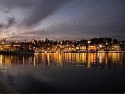 Switzerland. Lucerne at Dusk