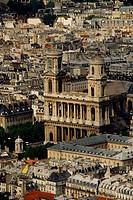 France, Île de France, Paris, St. Sulpice Church