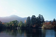 Lake Kinrin, Oita Prefecture, Japan