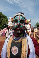 Bhima - Patukalam festival at Sevelimedu in Kanchipuram, Tamil Nadu, South India, India.