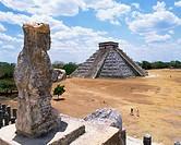 Pre_Hispanic City of Chichen_Itza in Mexico