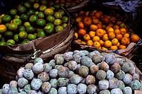 ASIA, INDONESIA, SUMATRA, BRASTAGI, FRUIT MARKET