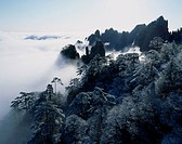 Mount Huangshan in Winter, Anhui Province, China