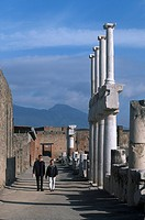 Italy, Campania, Pompei. Temple of Jupiter