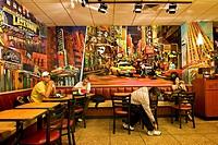 USA, New York City, Manhattan, McDonald´s fast food