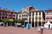 Main Square, Burgos, Castilla-Leon, Spain