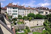 Bern (Switzerland): houses in the city's center
