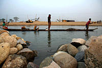 At least 9,000 people including 3000 women and 1000 children work as stone laborer, on the bank of the Dholai river, in Bholaganj, Sylhet Millions of ...