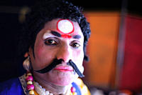 Yakshagana is a popular dance drama in South India which is performed on request from devotees who have taken a vow to arrange the show for fulfillmen...