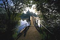 Seeon Abbey, Seeon_Seebruck, Chiemgau, Bavaria, Germany